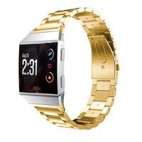 Rustfritt stål armbånd kompatibel med Fitbit Ionic - Gull