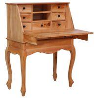 vidaXL Sekretærbord 78x42x103 cm heltre mahogni
