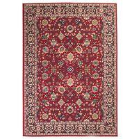 vidaXL Orientalsk teppe 160x230 cm rød/beige