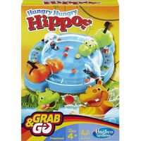 Hungry Hungry Hippos Grab & Go, Reisespill