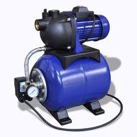 Elektrisk Hagepumpe 1200W - Blå