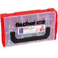 Fischer Veggplugger med skruesett FIXtainer DUOPOWER/DUOTEC 200 stk