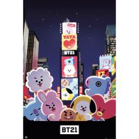 Maxi Poster, BT21 - Times Square