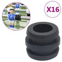 vidaXL Fotballstangstoppere for 15,9/16 mm stang 16 stk