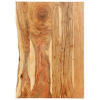 vidaXL Topplate til baderomsmøbler heltre akasie 80x55x2,5 cm