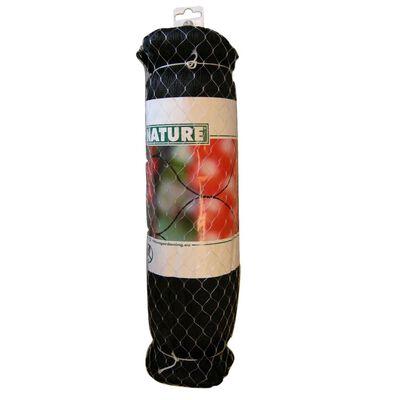 """Nature Fuglenett """"Primo"""" 10x10 m svart 6030407"""