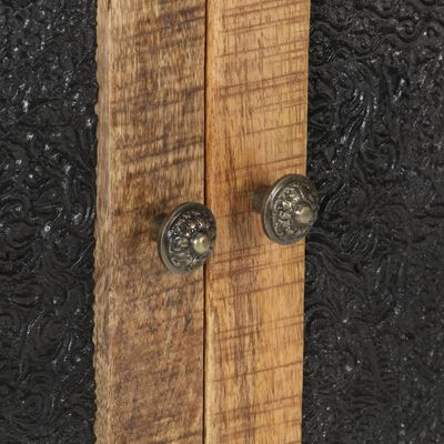 vidaXL Skjenk 60x35x75 cm grovt mangotre