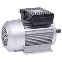 vidaXL Elektrisk motor 1 fase aluminium 1,5kW/2HP 2 poler 2800 o/min