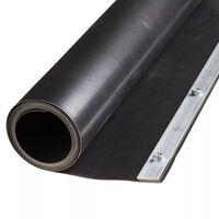 Nature Rot Barriere Plastduk 0,7 x 5 m HDPE Black 6030227