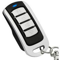 Fjernkontroll for automatiske dører / garasjeport - sort / sølv