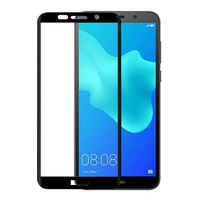 GEAR Tempered Glass 3D Full Cover Svart Huawei Y5 2018