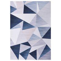 vidaXL Teppe print flerfarget 140x200 cm stoff