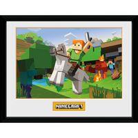 Minecraft - Tavle, Zombie Attack