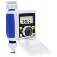 vidaXL Digital vanningstimer for hage med en krankobling