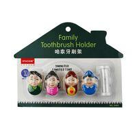 Tannbørsteholder Familie med timeglass