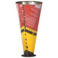 vidaXL Paraplystativ flerfarget 29x55 cm jern