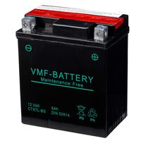 VMF Powersport Liquifix Batteri 12V 6Ah MF YTX7L-BS