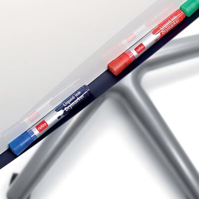 nobo Flyttbar flippoverstativ stål Classic Nano Clean