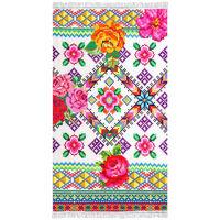 Happiness Strandhåndkle YUCATAN 100x180 cm flerfarget