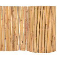 vidaXL Bambusgjerde 500x30 cm