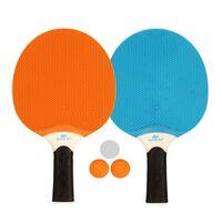 Get & Go Utendørs bordtennissett blå/oransje/lysegrå 61UP