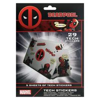 Deadpool - 29x Klistremerker