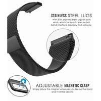 Armbånd Samsung Gear S2 Classic / Gear Sport - 20 mm - milanesisk loop
