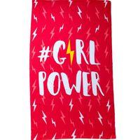 Badelaken i mikrofiber, Girl Power