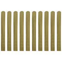 vidaXL Gjerdelameller 20 stk impregnert tre 100 cm