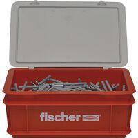 Fischer Spikerskruesett med plugger N8x60 200 stk