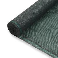 vidaXL Tennisskjerm HDPE 1,8x50 m grønn