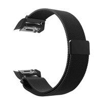 Armbånd til Samsung Gear S2 - Milanese loop - svart S