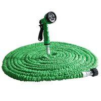 30m Magic Hose ekspanderende vannslange - Grønn