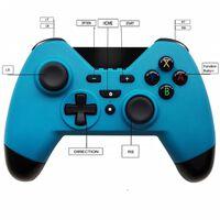 Håndkontroll for Nintendo Switch - trådløs - blå