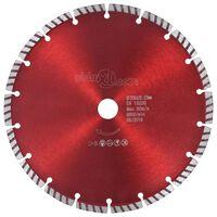 vidaXL Diamantkutteskive med turbostål 230 mm