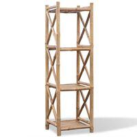 4-lags kvadratisk Hylle i bambus