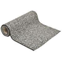 vidaXL Steinfolie grå 500x40 cm