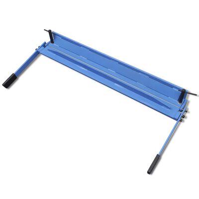 vidaXL Plateknekker manuell 930 mm
