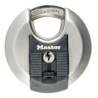 Master Lock Discus Hengelås Excell rustfritt stål 80 mm M50EURD