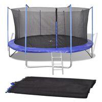 vidaXL Sikkerhetsnett for 4,26 m rund trampoline