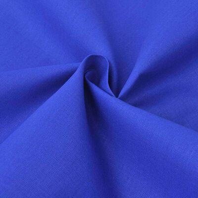 vidaXL Bomullsstoff 1,45x20 m blå