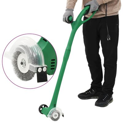 vidaXL Elektrisk ugressbørste 140 W grønn