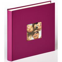 Walther Design Fotoalbum Fun 30x30 cm fiolett 100 sider