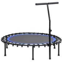 vidaXL Trim-trampoline med håndtak 122 cm