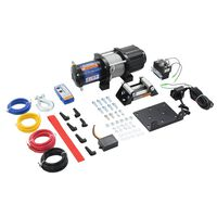 vidaXL Elektrisk vinsj 12 V 4500 lbs 2040 kg med fjernkontroll