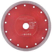 vidaXL Diamantkutteskive med hull stål 230 mm