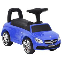 vidaXL Gåbil Mercedes-Benz C63 blå