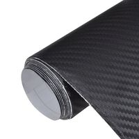 Skinninteriør av kunstig skinn for bil 152 x 500 cm karbonfiber-design