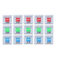 15-pakningspufferpulver til pH meter 4,9 / 6,86 / 9,18