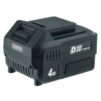 Draper Tools D20 litiumionbatteri 4Ah 20V